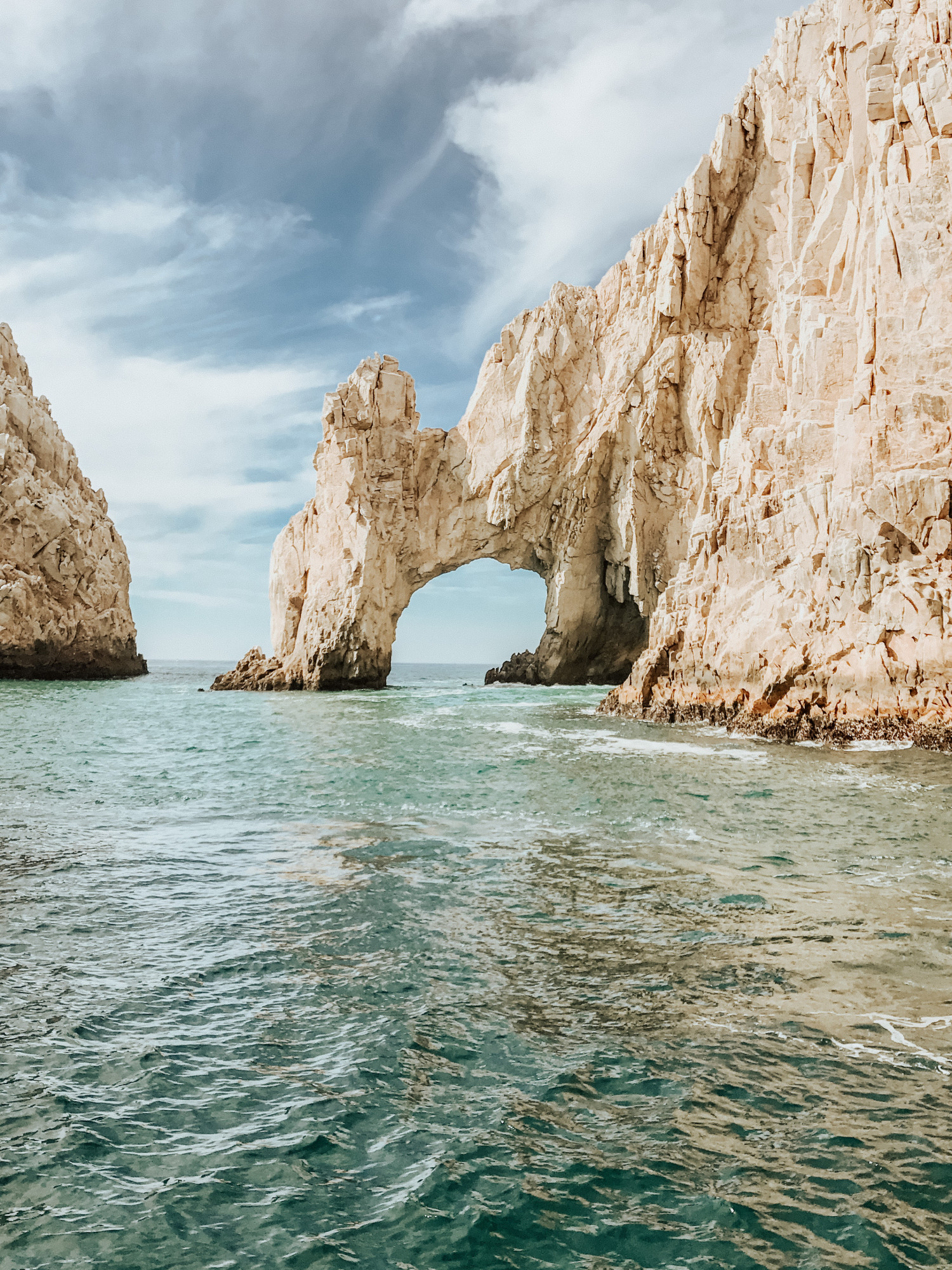 visiting el arco in cabo
