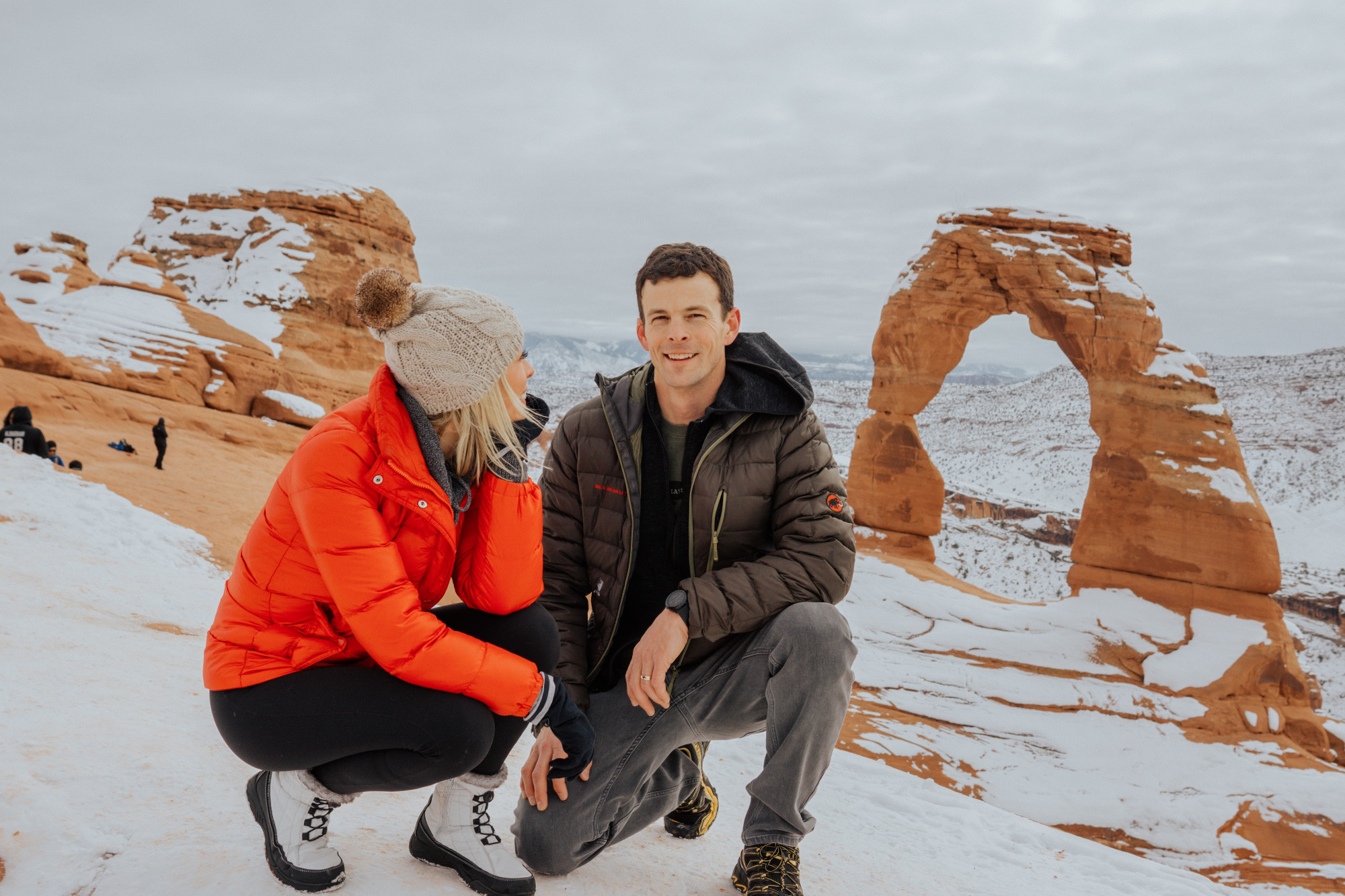Arches National Park in the Winter