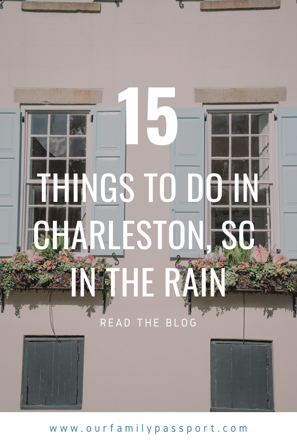 15 Things to do in Charleston SC in the rain