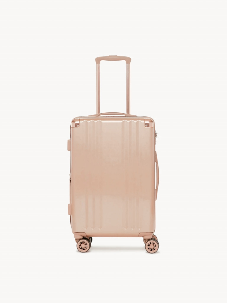 carry on to avoid checked luggage being stolen